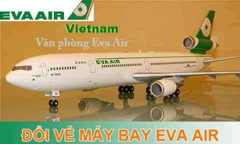 Đổi vé máy bay Eva Air