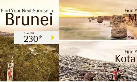 Royal Brunei Airlines: Khuyến mãi GV2 với giá chỉ từ 210 USD