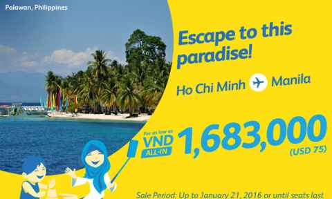 Cebu Pacific: Khuyến Mãi Bay Đi Manila Chỉ Từ 75 USD