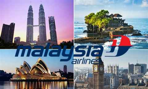 Malaysia Airlines Khuyến Mãi Khứ Hồi Chỉ Từ 85 USD