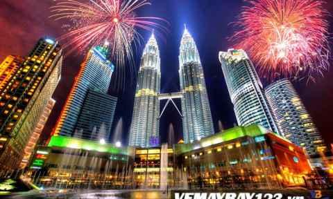 VÉ MÁY BAY ĐI MALAYSIA GIÁ RẺ CHỈ TỪ 30 USD
