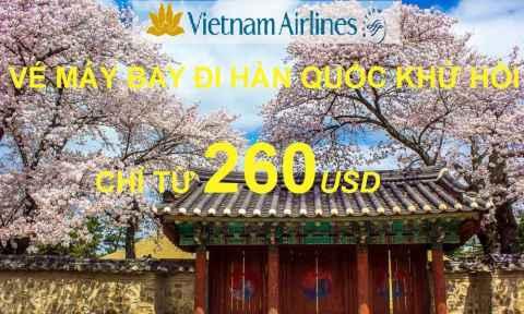 Tưng Bừng Khuyến Mãi Đi Hàn Quốc Chỉ 260 USD