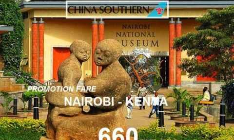 Khuyến Mãi Cực Sốc Đi Nairobi Kenya Khứ Hồi