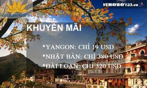 Vietnam Airlines Khuyến Mãi Cực Đã Hành Trình Quốc Tế