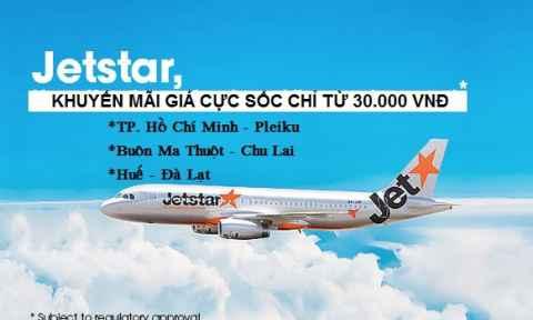Jetstar Pacific Khuyến Mãi Nội Địa Chỉ 30.000 VNĐ
