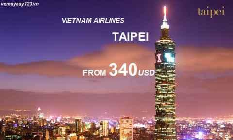 Vé Máy Bay Vietnam Airlines đi Đài Bắc Khuyến Mãi