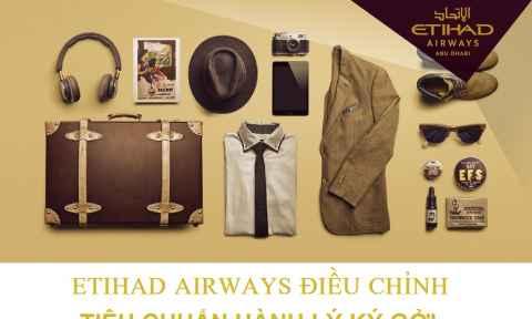 Etihad Airways Chuyển Chế Độ Hành Lý Theo Kiện