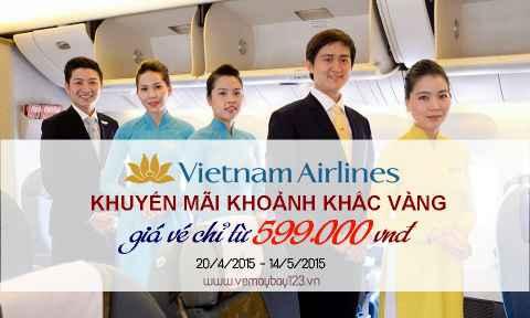 Khuyến mãi khoảnh khắc vàng 3 từ Vietnam Airlines