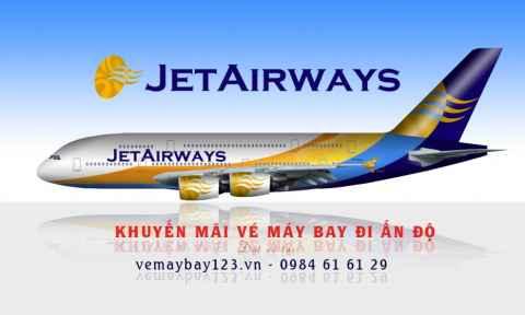 Vé máy bay Jet Airways khuyến mãi