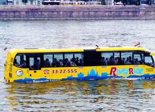 Tp. Hồ Chí Minh chuẩn bị có tuyến xe bus trên sông vào tháng 6