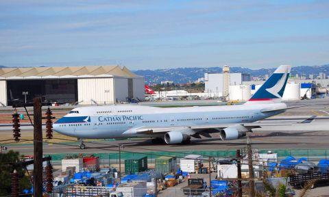 Vé máy bay đi Mỹ hãng Cathay Pacific