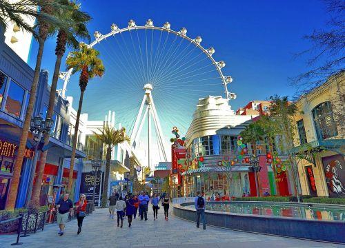 Vé máy bay đi Las Vegas 2019 United Airline