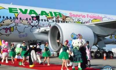 Eva Air - Hãng Hàng Không Quốc Gia Đài Loan