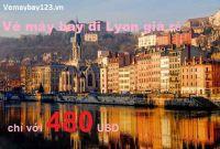 Vé máy bay đi Lyon - Pháp giá rẻ