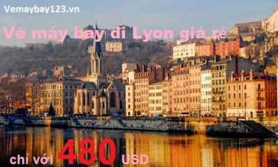 Vé máy bay đi Lyon giá rẻ
