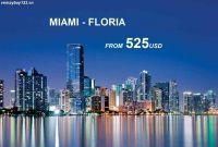 Vé Máy Bay Đi Miami Giá Rẻ