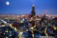 Vé Máy Bay Đi Cao Hùng Đài Loan Chỉ Từ 112 USD