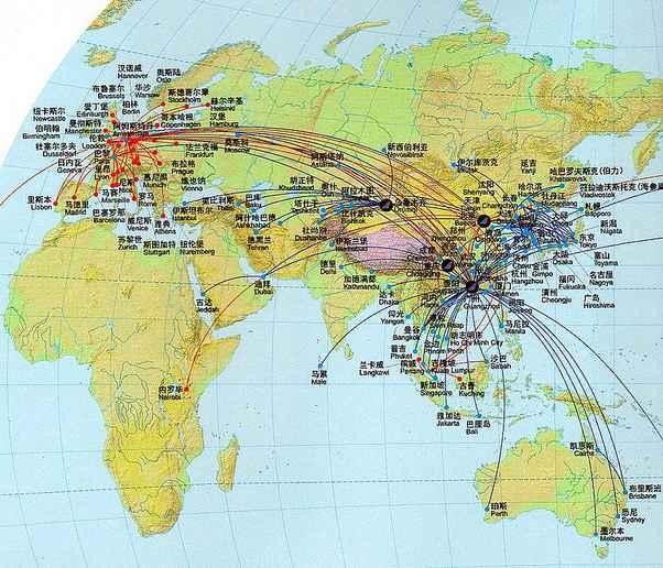 mang duong bay cua China Southern Airlines