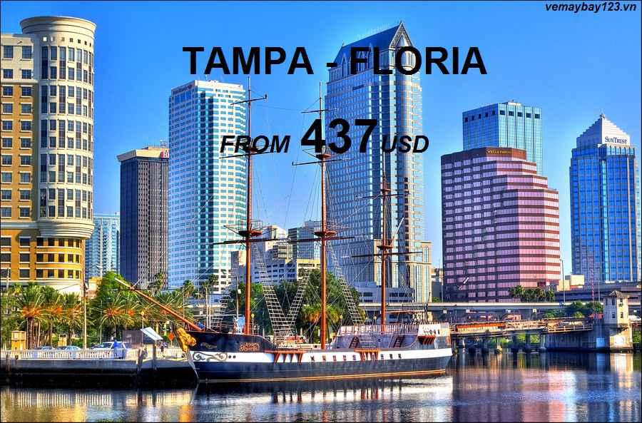 Vé Máy Bay Đi Tampa Giá Rẻ