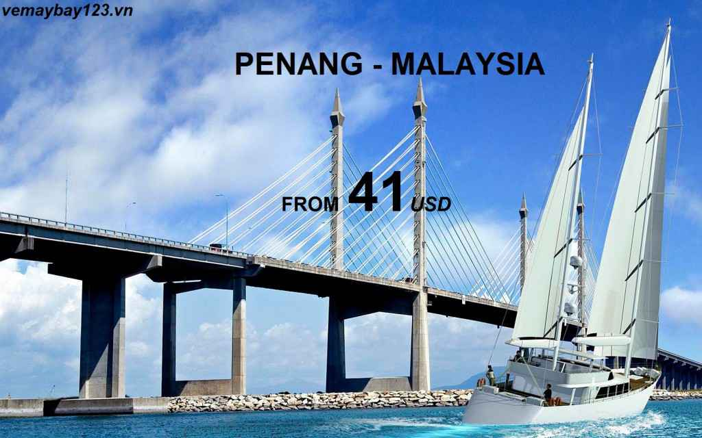 vé máy bay đi penang malaysia giá rẻ