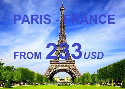 Vé Máy Bay Đi Paris Pháp Giá Tốt Nhất