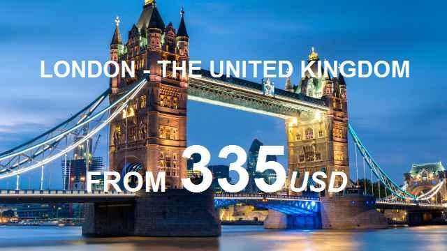Cơ Hội Đến London Với Vé Máy Bay Giá Tốt Nhất