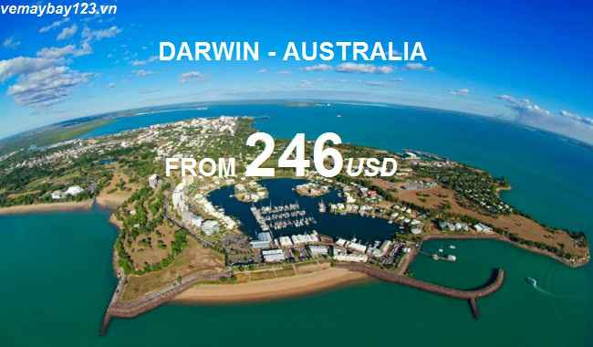Du Lịch Darwin Với Vé Máy Bay Giá Rẻ