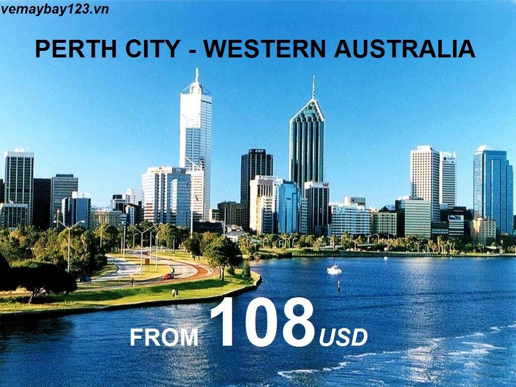 vé máy bay đi perth australia giá rẻ