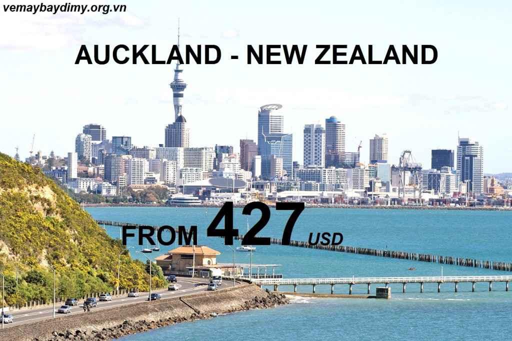 vé máy bay đi auckland new zealand giá rẻ