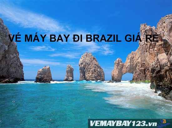 Vé Máy Bay Đi Brazil Giá Rẻ