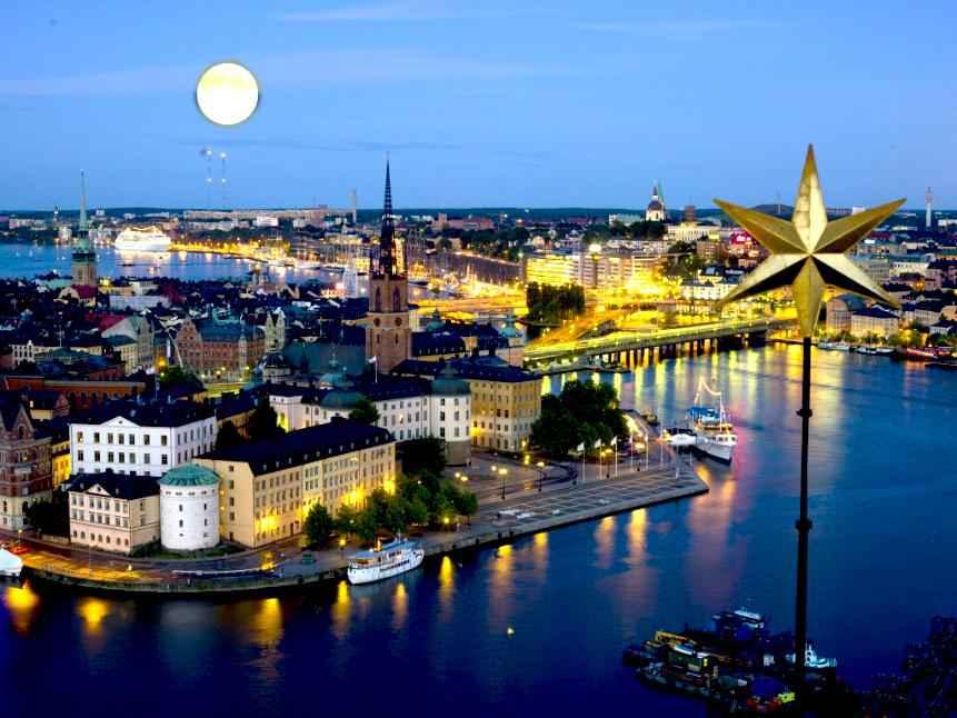 Vé máy bay đi Stockholm Thụy Điển 1